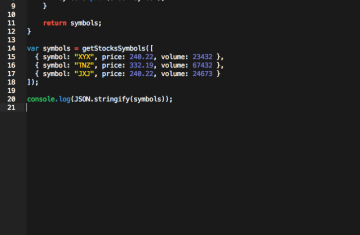 In-Editor JS Compiling